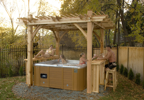 Outdoor Living 11'x9' Breeze Spa Shelter